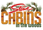 Stowe Cabins in the Woods Logo