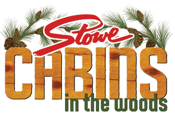 Stowe Cabins in the Woods Retina Logo